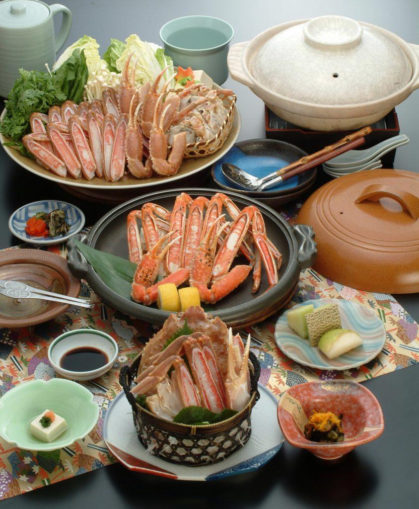蟹づくし料理7,000円コース(イメージ)